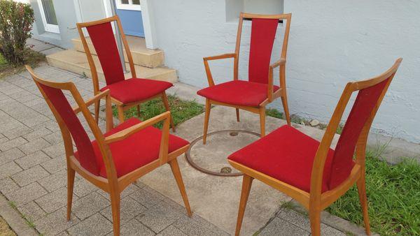 4x Stuhl Vintage Mid Century