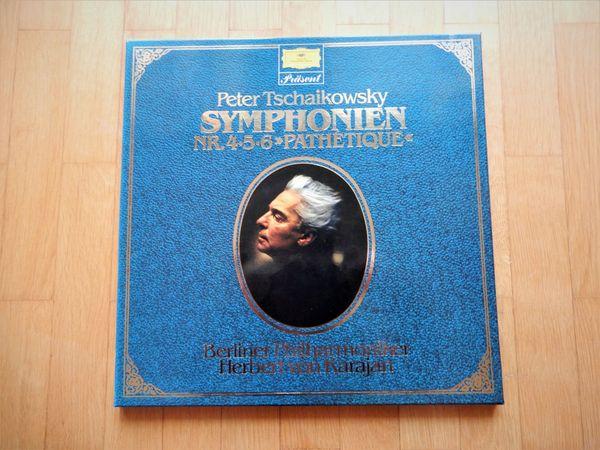 Tschaikowsky - Symphonien Nr 4-5-6 Pathetique Karajan