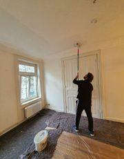 Maler Malerarbeiten Zimmer Wohnung Wände
