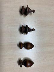 Drechselteile Holzteile antik
