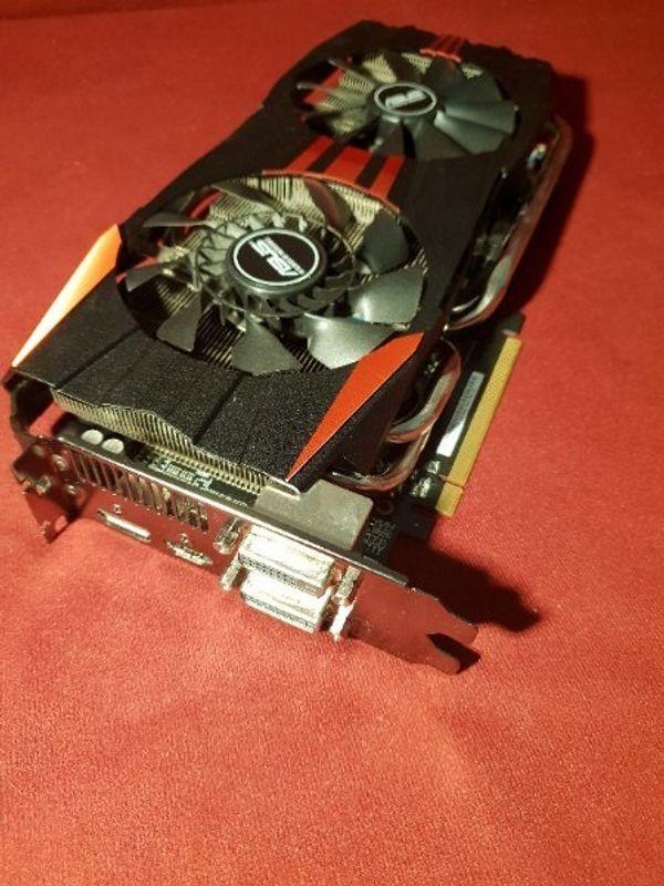 Grafikkarte Asus Radeon R9 280X in Bludenz - Grafikkarten kaufen und