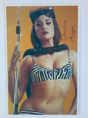 Claudine Auger James Bond PK-Format