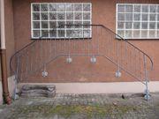 Treppengeländer handgeschmiedetes Eisen