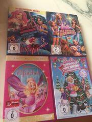 Barbie DVDs - 4 Stück