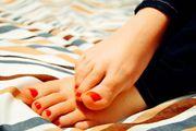 Deine Füße werden mich lieben