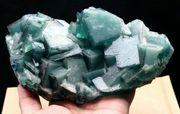Fluorit grün blau Mineralien