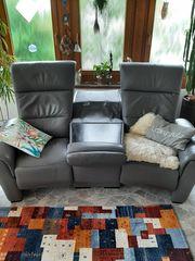 RELAX-Liege 3-Sitzer mit Motor