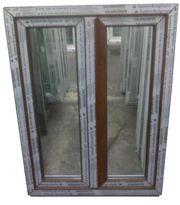 Kunststofffenster Fenster 90x120cm bxh 2-fl