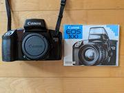 Analoge Spiegelreflexkamera Canon EOS 100