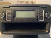 VW RCD 210 MP3 Autoradio