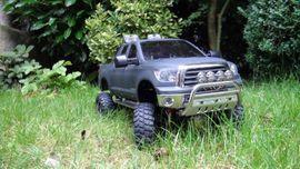 RC-Modelle, Modellbau - Tamiya Toyota Tundra high-lift mit