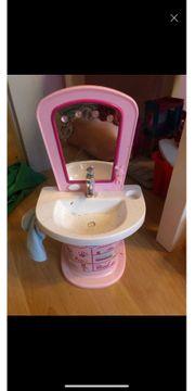 Puppen Waschbecken
