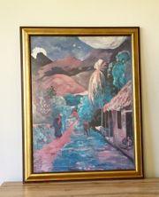 Paul Gauguin-Druck Chemin a Papeete