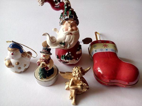 Weihnachtsdeko Verkaufen.Weihnachtsdeko Weinachtsfiguren Weihnachtsmann Engel Schneemann In
