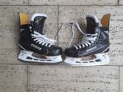 Nagelneue noch nicht angepasste Eishockeyschlittschuhe