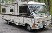 Wohnmobil Mercedes 608D Campingmobil 1984