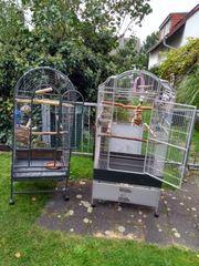 2 Papageienvolieren auch einzeln zu