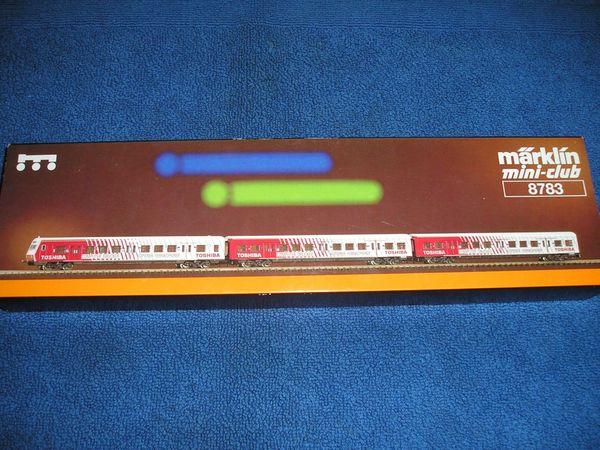 Märklin mini club 8783 S-Bahn-Wagenset