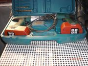 Akkubohrmaschine im Koffer