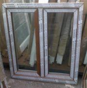 Kunststofffenster Fenster 100x110cm bxh 2-fl