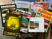 Eisenbahn Bücher und Broschüren Konvolut