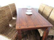 Esstisch 6 Stühle - dänisches Bettenlager -