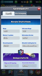 Chlash Royale Account