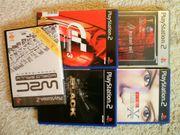 Playstation 2 Bundle 5er - Inkl