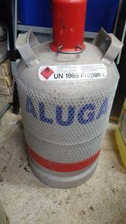 Propangasflaschen 3x Alu 11 kg