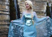 Märchenhafte Videogrüße Eiskönigin Prinzessin