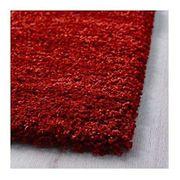 Teppich - Florteppich rot