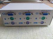 Manhattan KWM Monitor Umschalter VGA
