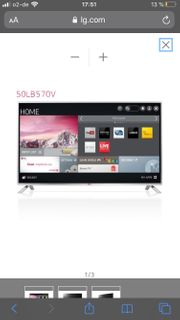 LG Fernseher 50LB570v