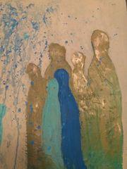 Acrylbild auf Leinwand