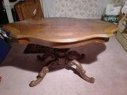 Tisch aus Mahagoni Holz nur