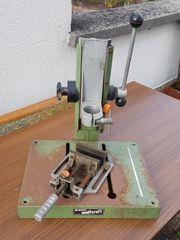 Bohrständer mit Schraubstock von wolfscraft