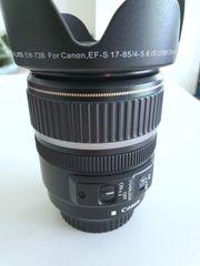 Canon Ultrasonic EF-S 17-85 mm