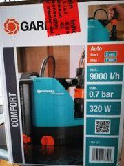 Gardena Comfort Tauchpumpe 9000 aquasensor-NEU