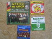 Fußball - Schallplatten