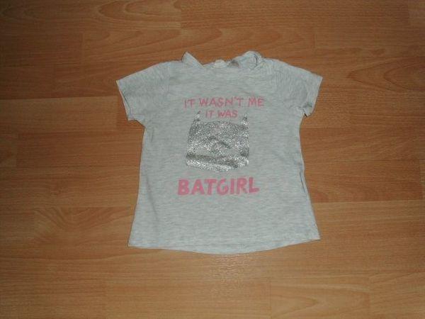 T-Shirt von H M hellgrau