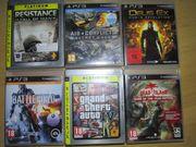 6x PS3 Spiele