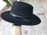 schwarzer Filzhut - Herren