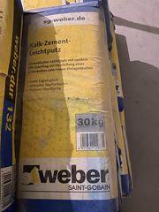 Putz Kalk-Zement-Leichtputz Weber