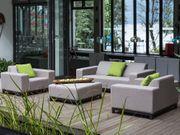 Lounge Set beige 5-Sitzer ROVIGO neu