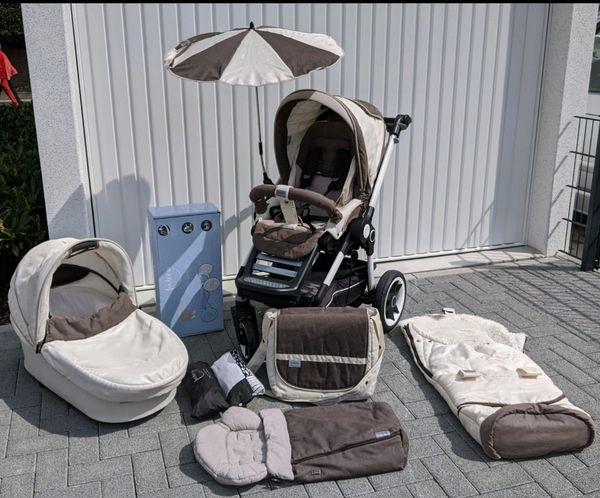 Komplettset Sommer Winter Hochwertiger Kinderwagen