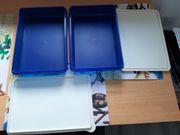 Tupperware 2 blaue Frischhaltebehälter