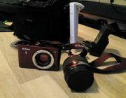 Nikon 1 J3 rot mit