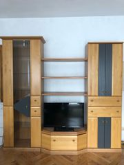 Segmüller - Wohnwand extra Barschrank in