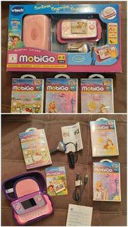 Vtech MobiGo mit 3 Lernspielen