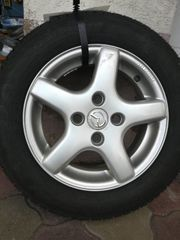 4 Stk Alufelgen mit Reifen